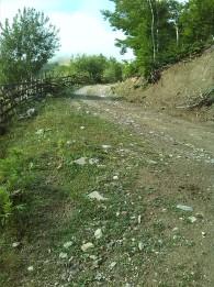 Unsealed roads Lepusche