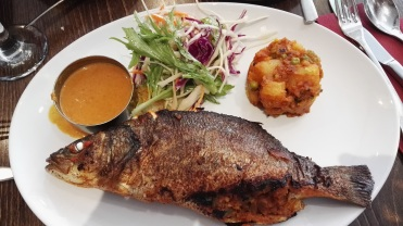 Sea bass main Tharavadu Leeds