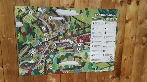 Incredible Todmorden Way map