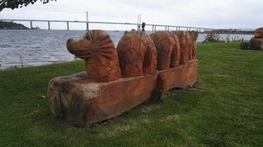 Merkinch sculpture