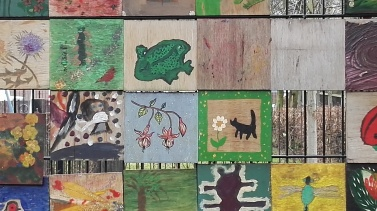Culpeper Community Garden Paintings