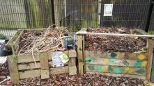 Culpeper Community Garden Compost bins