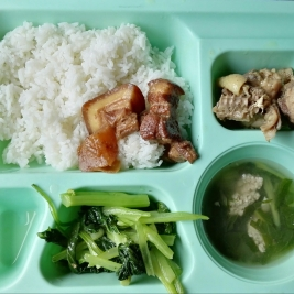 Lunch & dinner tray
