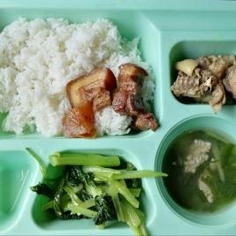 Lunch & dinner tray