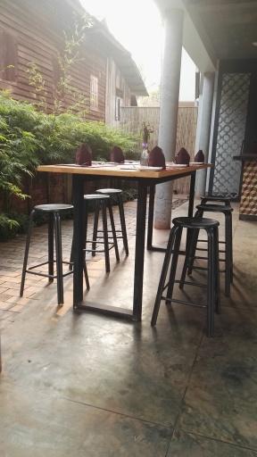 Sala Bai breakfast area
