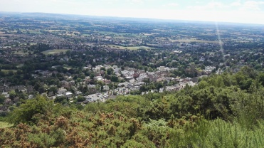 View of Malvern Town
