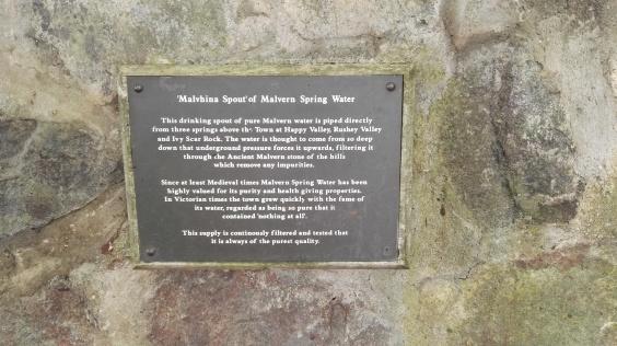 Malvern Spring Water