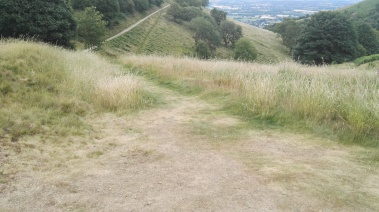 Path around North Hill