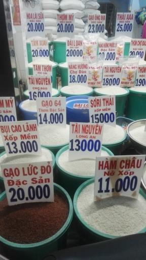 Rice Stall Ho Chi Minh City