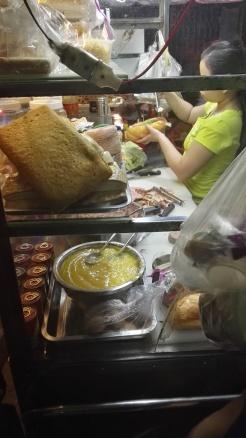 Preparing Bánh Mì