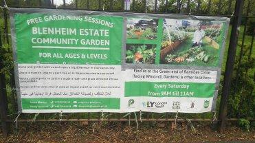 Blenheim Estate Community Garden